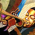 Wynton Marsalis by Everett Spruill