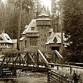 Wyntoon Hearst Summer Home Mccloud River, 1915, California by California Views Archives Mr Pat Hathaway Archives