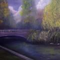 Wyomissing Creek Misty Morning by Marlene Book