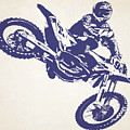 X Games Motocross 1 by Stephanie Hamilton