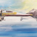 X Wing Fighter by Jay Ybarra