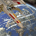10105 X-wing Starfighter by Colin Hunt