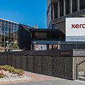 Xerox Tower Entrance by Ray Sheley