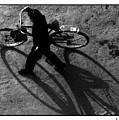 Xian Bike Lines by R Thomas Berner