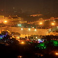 Xian City Lights by Carol Groenen