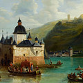Xixth Century French School Pfalzgrafenstein Castle by MotionAge Designs