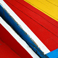 Xochimilco Boat Abstract 1 by Skip Hunt