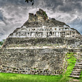 Xunantunich  El Castillo by David Zanzinger