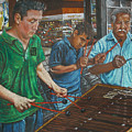 Xylophone Players by Jim Barber Hove