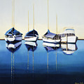 Yacht Harbor by Han Choi - Printscapes