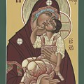 Yakhrom Icon Of The Mother Of God 258 by William Hart McNichols