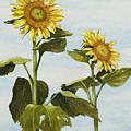 Yana's Sunflowers by Mary Ann King