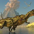 Yangchuanosaurus Dinosaurs by Corey Ford