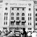 Yankee Stadium, Fans Arrive To Watch by Everett