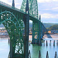Yaquina Bay Bridge Br-9002 by Mary Gaines