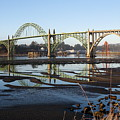 Yaquina Bay Bridge by Claire McGee