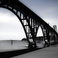 Yaquina Bay Bridge by Lee Santa