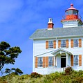 Yaquina Bay Lighthouse by AJ Schibig