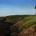 Yaquina Head Lighthouse by Coby Cooper