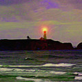 Yaquina Head Lighthouse by Methune Hively