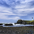 Yaquina Lighthouse by John Kiss