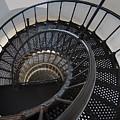 Yaquina Lighthouse Stairway Nautilus - Oregon State Coast by Daniel Hagerman