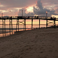Yaupon Pier Sunset by Kevin Work