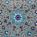 Yazd - Blue Mosaic by Sonja Rohde