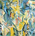 Yellow Abstraction by Zhong Ling
