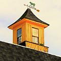 Yellow Barn Cupola by Dan O'Neill