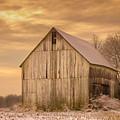Yellow Barn, Yellow Sunset by Robert Gardner