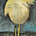 Yellow Bird In Field by Tim Nyberg