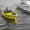 Yellow Boat by Terry Cooper LRPS