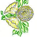 Yellow Bouquet by Judith Herbert