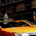 Yellow Cab by Jerome Sauvage