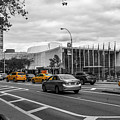 Yellow Cabs By The United Nations, New York 3 by Art Calapatia