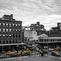 Yellow Cabs In Chelsea, New York 2 by Art Calapatia