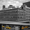 Yellow Cabs In Chelsea, New York 3 by Art Calapatia