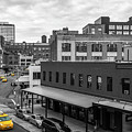 Yellow Cabs In Chelsea, New York 5 by Art Calapatia