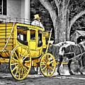 Yellow Carriage by Evelina Kremsdorf