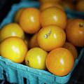 Yellow Cherry Tomatoes by Lori Rider