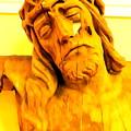 Yellow Christ #1 by Ed Weidman
