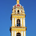 Yellow Church And Blue Sky by Jess Kraft