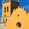 Yellow Church In Antigua, Guatemala by Tatiana Travelways