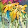 Yellow Coneflower by Mary Lou McCambridge