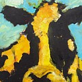 Yellow Cow by Lidija Ivanek - SiLa