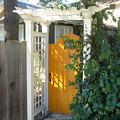 Yellow Door by Dorota Nowak