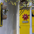 Yellow Door by Jennifer Robin