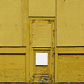 Yellow Door With Accent by Ben Freeman