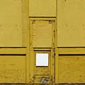 Yellow Door With Accent by Ben Freeman